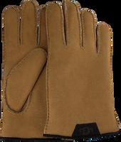 Camel UGG Handsker SHEEPSKIN GLOVE W/LTHR  - medium