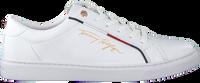 Hvide TOMMY HILFIGER Lavskaftede sneakers SIGNATURE  - medium