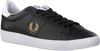Sorte FRED PERRY Lavskaftede sneakers B8255  - small