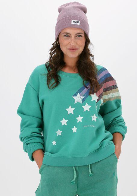 Grønne LEON & HARRPER Sweater SORTIE JC55 COMET  - large