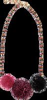 Flerfarvede LE BIG Halskæde OPRAH NECKLACE  - medium