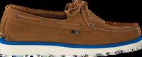 Cognac WOOLRICH Loafers BOAT SHOE  - medium