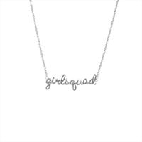 Sølv ATLITW STUDIO Halskæde URBAN NECKLACE GIRLSQUAD  - medium