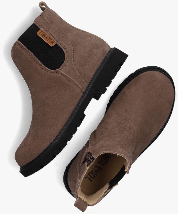 Brune TON & TON Chelsea boots SIGURD  - larger