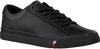 Sorte TOMMY HILFIGER Lavskaftede sneakers CORPORATE  - small