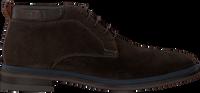 Brune MAZZELTOV Snørestøvler MBURGO600.11OMO1  - medium