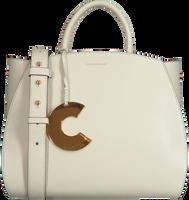 Hvide COCCINELLE Håndtaske CONCRETE MEDIUM  - medium