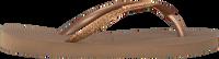 Guld HAVAIANAS Flipflops KIDS SLIM SHINY  - medium