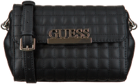 Sorte GUESS Håndtaske MATRIX CNVRTBLE XBODY BELT BAG  - medium