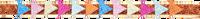 Flerfarvede LE BIG Hårbånd TINTE HEADBAND  - medium