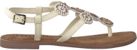Hvide LAZAMANI Sandaler 75.607  - medium