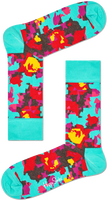 Sorte HAPPY SOCKS Strømper FLOWER  - medium