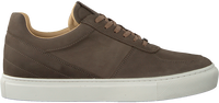 Taupe MAZZELTOV Lavskaftede sneakers 20-9338B  - medium