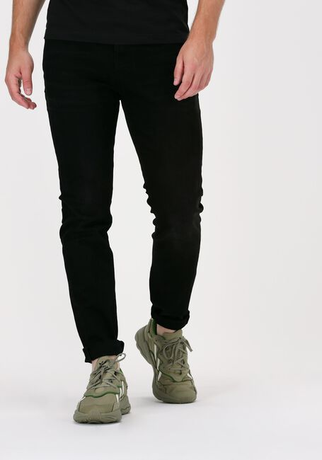 Sorte SELECTED HOMME Slim fit jeans SLHSLIM-LEON 4003 W.BLACK ST J - large