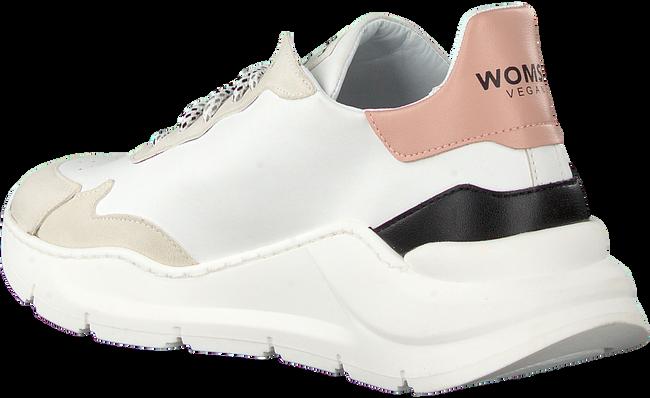 Hvide WOMSH Lavskaftede sneakers VEGAN  - large