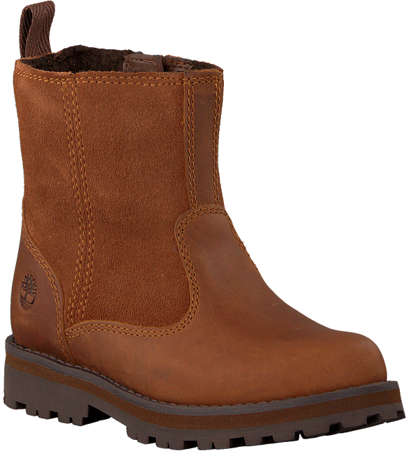 Cognac TIMBERLAND Ankelstøvler COURMA KID WARM LINED  - large