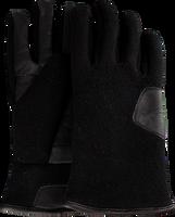 Sorte UGG Handsker FABRIC AND LEATHER GLOVE  - medium