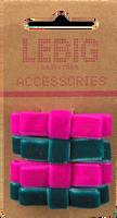 Lyserøde LE BIG Hårbånd PHILICIA HAIRCLIPS  - medium