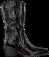 Sorte VERTON Lange støvler 687-007  - medium