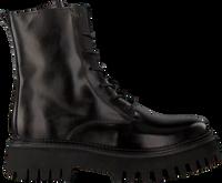 Sorte BRONX Snørestøvler GROOV-Y 47283  - medium