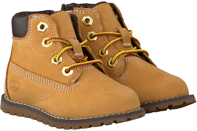 Camel TIMBERLAND Snørestøvler POKEY PINE 6IN BOOT KIDS  - large