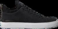 Sorte BLACKSTONE Lavskaftede sneakers SG28  - medium
