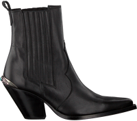 Sorte TORAL Ankelstøvler 12542  - medium