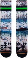 Flerfarvede XPOOOS Strømper URBAN BIKE  - medium