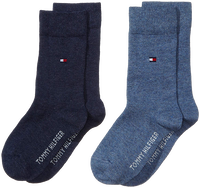 Blå TOMMY HILFIGER Strømper TH CHILDREN SOCK TH BASIC 2P  - medium
