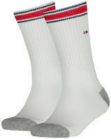 Hvide TOMMY HILFIGER Strømper TH KIDS ICONIC SPORTS SOCK 2P  - medium