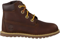 Brune TIMBERLAND Snørestøvler POKEY PINE 6IN BOOT KIDS  - medium