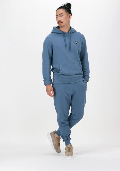 Grå LYLE & SCOTT Sweater PULLOVER HOODIE - large