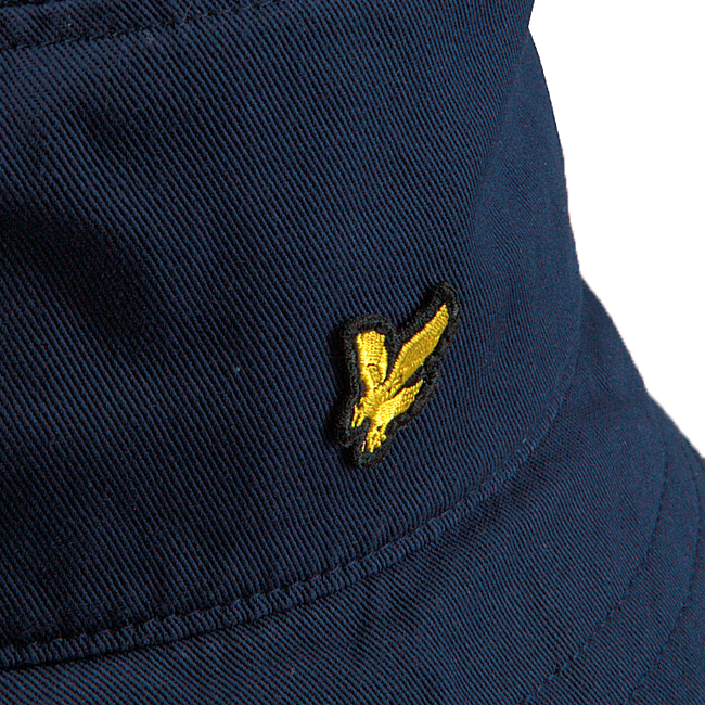 Blå LYLE & SCOTT Hat COTTON TWILL BUCKET HAT  - large